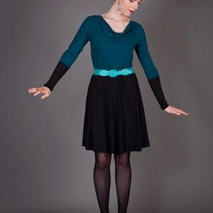 Dresses & Skirts - SQUASHT | Cowl Neck Dress | SM